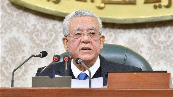 جبالى يرفع أعمال الجلسة العامة للبرلمان